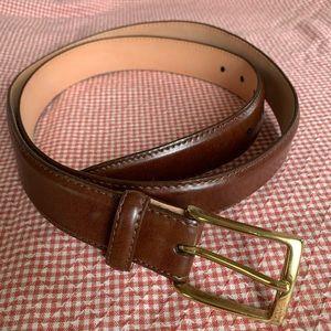 Martin Dingman Leather Belt